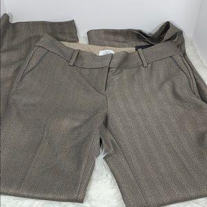Loft Marissa modern lined tweed trousers 10